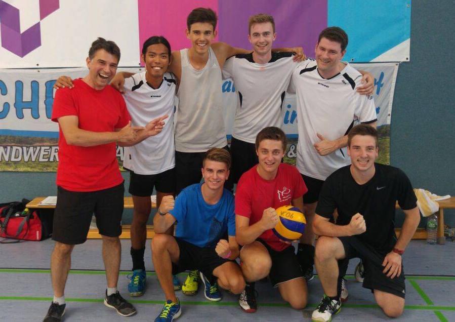 Team beim 1. Wegra Cup in Hildburghausen