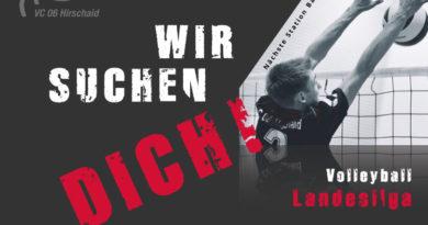 Die Landesliga sucht DICH!